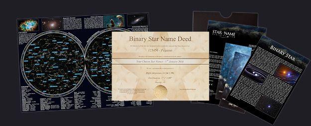 Étoile Binaire (par Email) Package