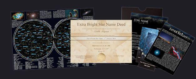 Étoile Extrêmement Lumineuse (par Email) Package